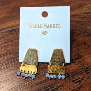 3/$15 Hammered earrings